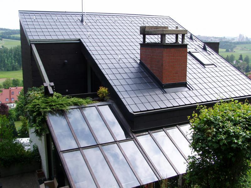Prefa Dacheindeckung, Roßbrunn